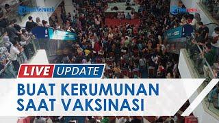 Seorang Warga Protes saat Vaksinasi Massal di Mall Mega Batam: Ini akan Timbulkan Kluster Baru!