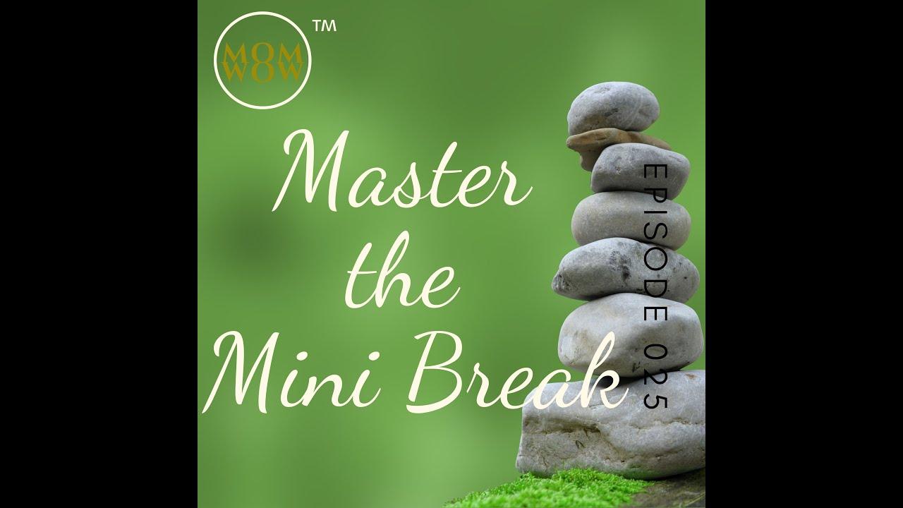 Zen & Mastering the Art of the Mini Break