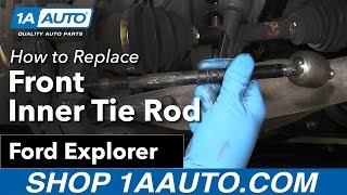 How To Replace Front Inner Tie Rod 06 10 Ford Explorer