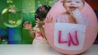 Лайк Настя С Днем Рождения! ОГРОМНОЕ яйцо с сюрпризами любимыми игрушками Насти с канала Like Nastya