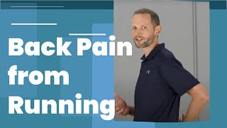 Lower Back Pain From Running (Why this Happens)