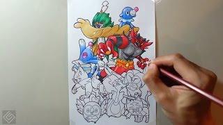 All Starters Pokemon 7
