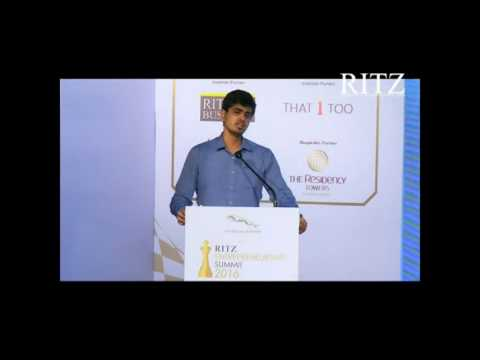 Hrishikesh Datar at Jaguar RITZ Entrepreneurship Summit 2016, Coimbatore
