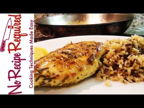 Video Rosemary Lemon Chicken Breast Recipe - NoRecipeRequired.com