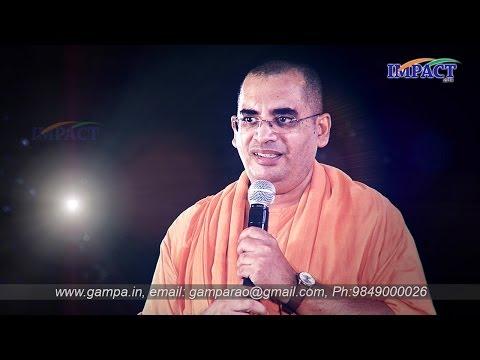Attitude Matters To Become Hero|Swami Bodhamyananda|TELUGU IMPACT Hyd 2014-Part2