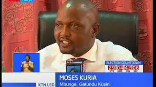 Mbunge wa Gatundu ya kusini Moses Kuria ajitetea kwa madai ya kujihusisha na kundi la Mungiki