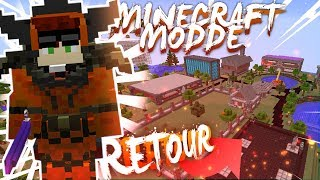 JE REJOINS LA DEVELEC ! Minecraft Moddé EPISODE RETOUR !