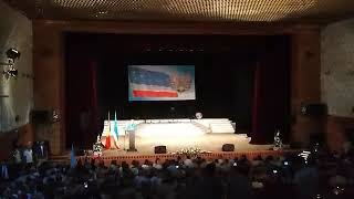 Празднование 28-ой годовщины Гагаузской Республики - Выступление Башкана И. Влах