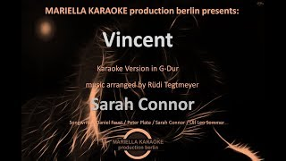 Sarah Connor   Vincent (Karaoke Version)