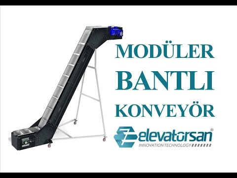 MODULAR BATTERY CONVEYOR - STAINLESS STEEL