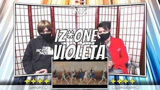 IZ*ONE (아이즈원)   비올레타 (Violeta) MV | [ NINJA BROS Reaction  Review ]