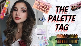 MY FAVORITE EYESHADOW PALETTES ✰ The Palette Tag! | Julia Mazzucato
