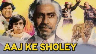Aaj Ke Sholey - Full Movie - Amrish Puri, Jayanti - Bollywood Hindi Movie