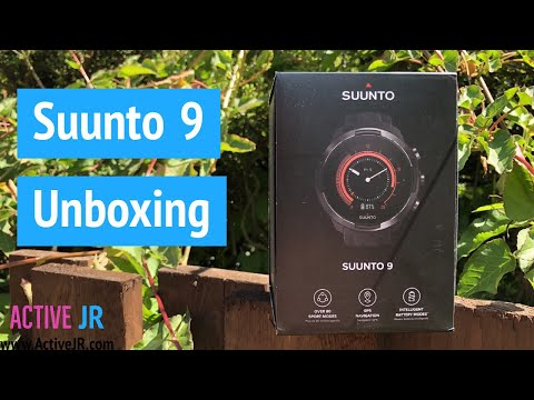Suunto 9 unboxing - Fitness GPS sports watch