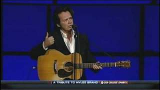 John Mellencamp Longest Days Live Acoustic @ Myles Brand Tribute 10-28-2009