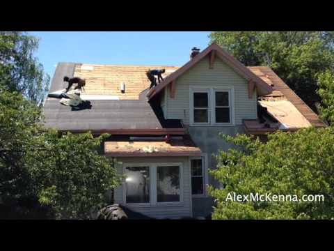 3-Minute Roof Replacement in Newington, CT!