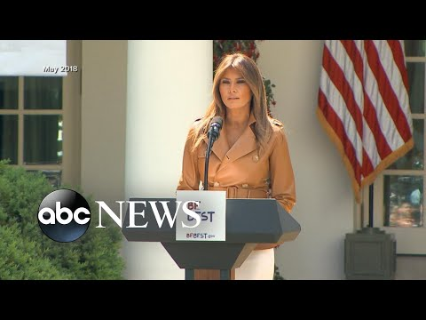 Melania Trump reportedly issues statement after husband criticized for bullying tweets | ABC News