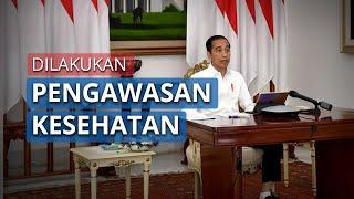 Presiden Jokowi Minta Pemudik Diawasi karena Risiko Penyebaran Covid-19
