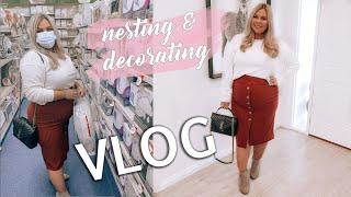 Nesting Vlog! Painting the Nursery! August 2020