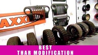 My Thar Modification at Bimbra 4x4