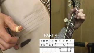 """I Saw The Light"" Instruction Tutorial for 5-String Banjo"