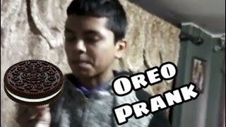 Tooth paste Oreo (Prank)