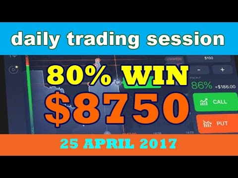 How much money did you make on binary options