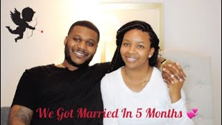 We Got Married After Dating For 5 Months! ⎮Story Time