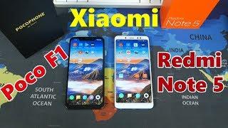 Что купить Pocophone F1 или Xiaomi Redmi Note 5 в 2018 - 2019?