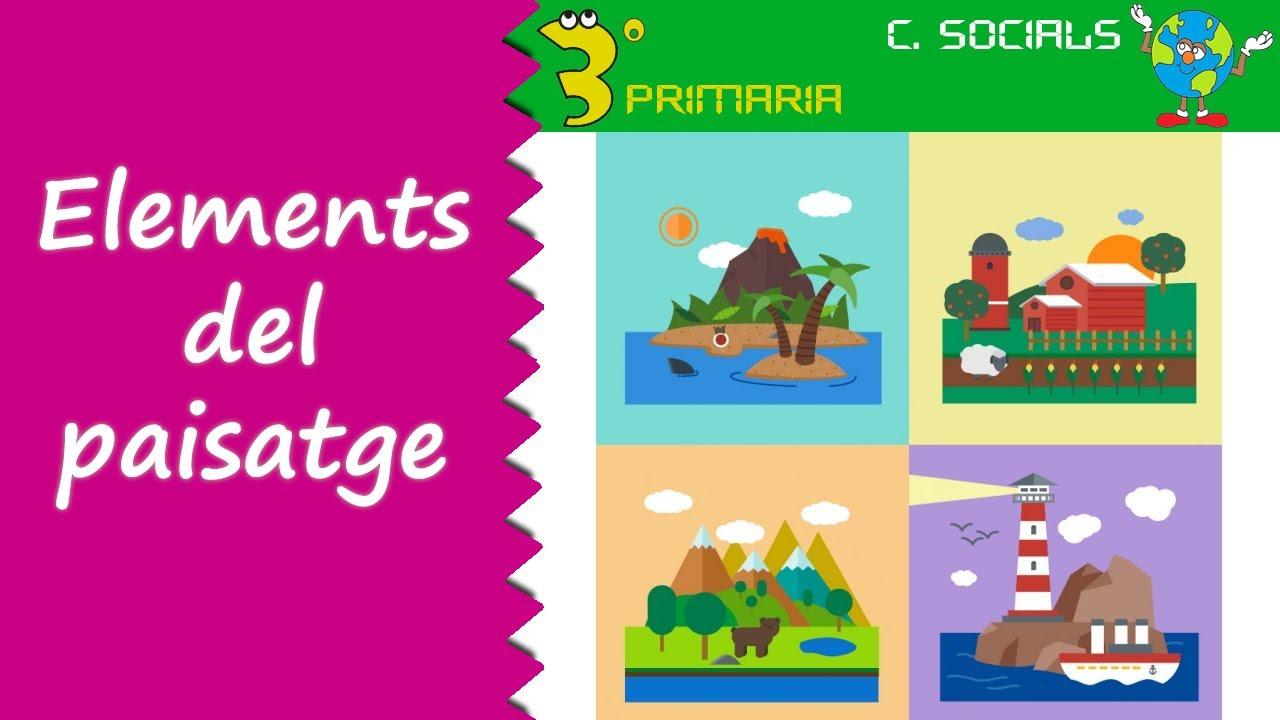 Ciències Socials. 3r Primària. Tema 6. Els elements dels paisatge