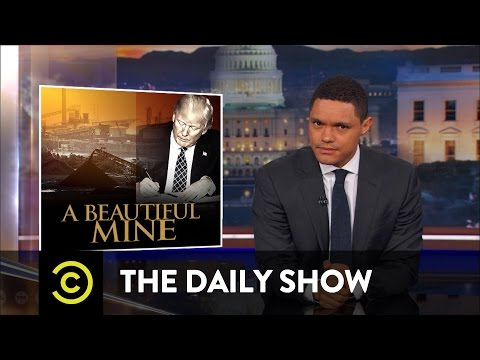 Trump Vows to End the Nonexistent War on Coal: The Daily Show