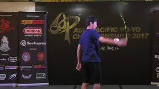 Невероятные трюки с Йо Йо - парень отжигает (лучшие приколы спорт, смех, люди невероятны)