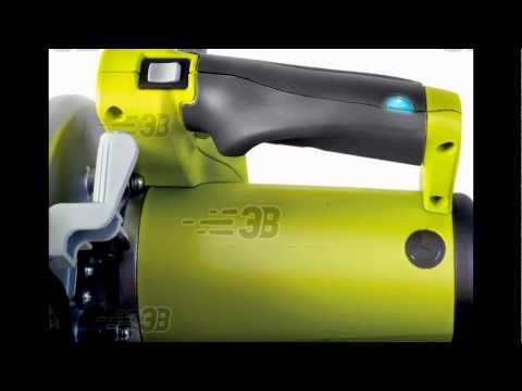 Торцовочная пила RYOBI EMS1122LHG (3000692). Видео-Презентация