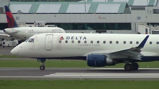 Delta Connection (Compass Airlines) ERJ-175 [N607CZ] Takeoff Portland Airport (PDX)