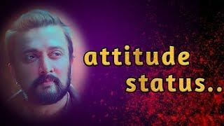 Kichaa Sudeep attitude what's app status...