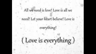 Love is everything   Ariana Grande Lyrics