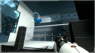Portal 2 - Mac | PC | PS3 | Xbox 360 - Gamescom 2010 gameplay demo #2 video game preview trailer HD