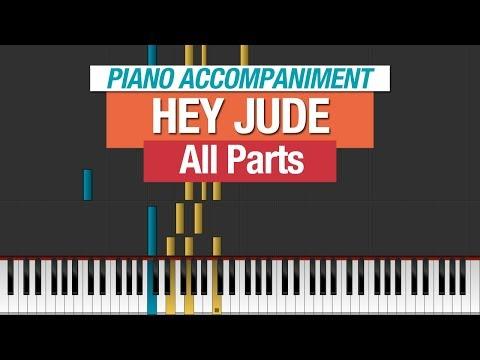 Hey Jude The Beatles Piano Tutorial