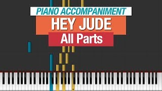 The Beatles - Hey Jude - Piano Tutorial