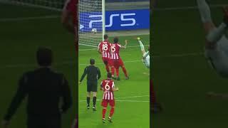 Giroud Scores BEAUTIFUL Bicycle Kick Goal vs Atletico Madrid #Shorts
