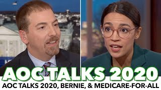 AOC Talks 2020, Bernie Sanders, And Medicare-For-All