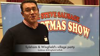 Syleham & Wingfield's  village christmas party
