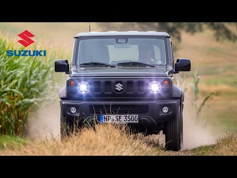 Suzuki Jimny Road & Trail Driving, Interior & Exterior