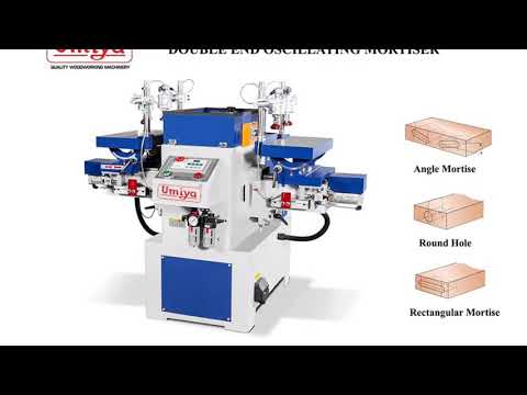 Double End Oscillation Mortising Machines