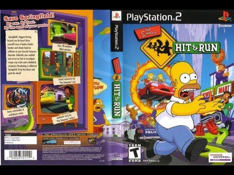 The Simpsons: Hit & Run - O GTA DOS SIMPSONS PARTE 1