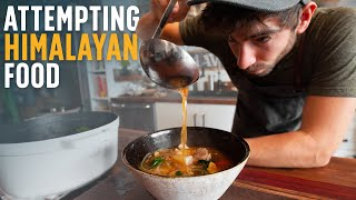 We found NYC's BEST Himalayan food, and then made it at home.