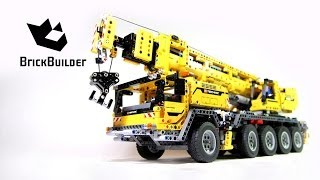 Lego Technic 42009 Mobile Crane MK II - Lego Speed build