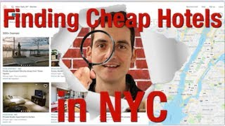 Where To Stay in NYC- How To Find A Cheap Hotel/AirBnb/Hostel !