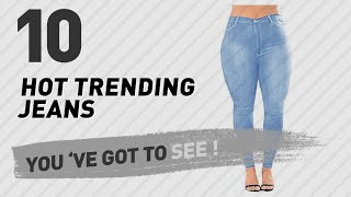 Womens Plus Size Jeans, Top 10 Collection // New & Popular 2017