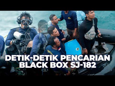 Detik-detik Pencarian Black Box SJ-182